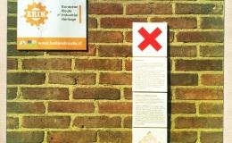 Historische borden inAmsterdam-Noord