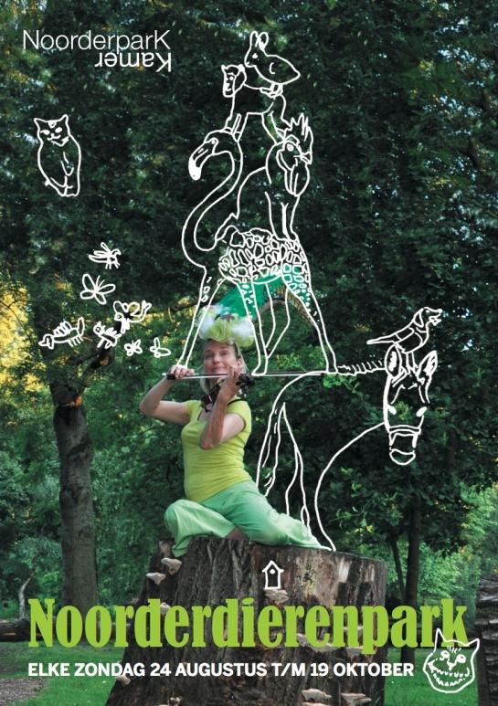 Flyer Noorderdierenpark-voorkant