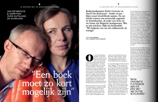 Boekenweekmagazine_v06_p6-7-8-9_Interview Esther en David